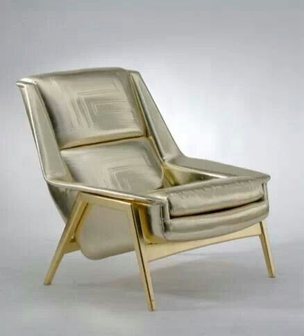 "Versace home - or: ""blinged-up Dux Lounge Chair by Folke Ohlsson""!!!!!!!!!!"