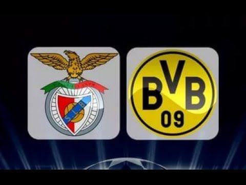 Benfica vs Borussia Dortmund Full Match HD & Highlights Champion League ...