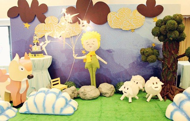 Keith's The Little Prince Themed Party – 1st Birthday - Party Doll Manila