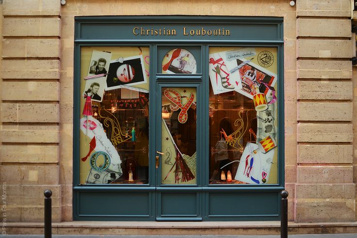 Party at Louboutin — Paris in Four Months