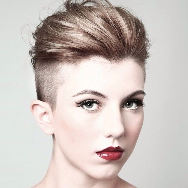 100 Best Short Hairstyles Chicest Short Haircuts For Short Hair 2020 Really Short Hair Short Shaved Hairstyles Shaved Sides