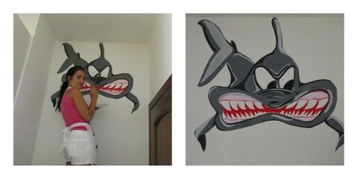 uno squalo cattivo XD