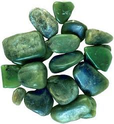 In NZ jade is called greenstone or 'pounamu' after the Maori word. It is gathered in riverbeds, especially on the western side of the South Island