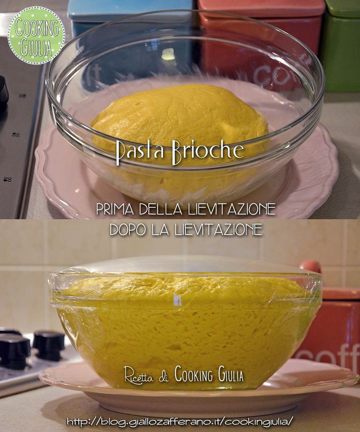 """La pasta brioche è uno degli """"impasti base"""" che è bene tenere a mente per diverse preparazioni: che voi vogliate preparare delle briochine, una treccia.."""