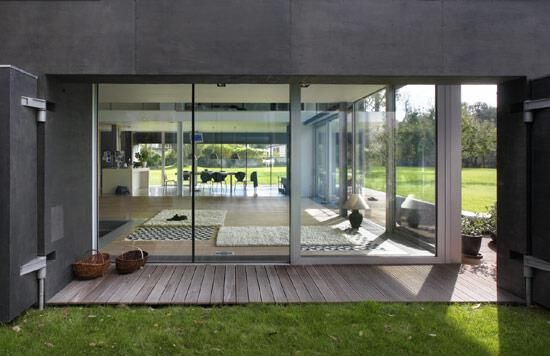Block with a view: Modern, Interior Design, Safe House, Zombie Proof House, Zombie Apocalypse, Architecture, Homes, Poland