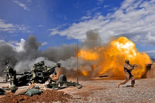 M-777 155mm howitzer