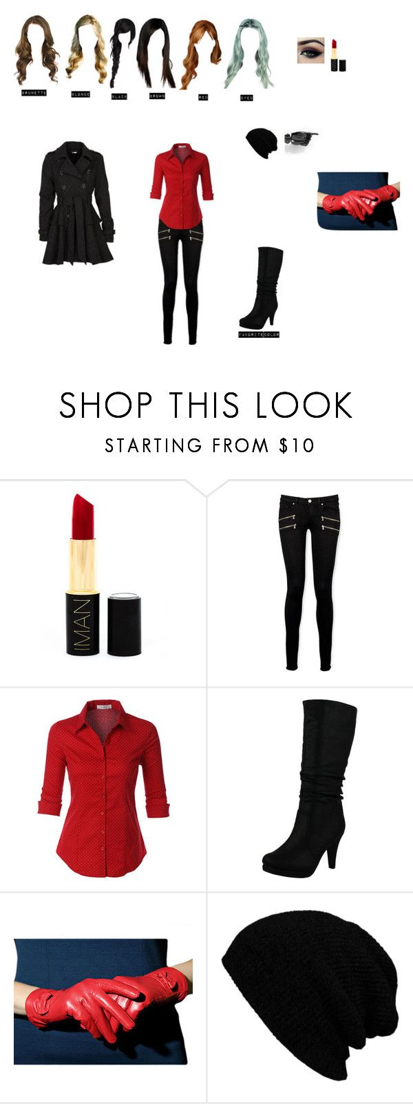 """""""How you meet- Ratchet"""" by theglittergamer on Polyvore featuring Iman, Paige Denim, LE3NO, Top Moda, KBETHOS and Steve Madden"""