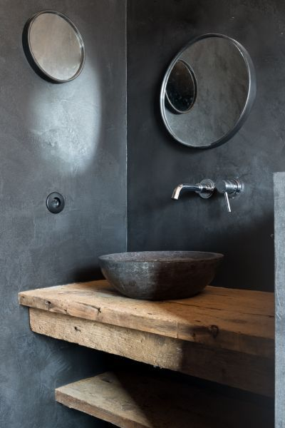COCOON modern bathroom inspiration bycocoon.com | black fittings | stainless steel bathroom taps | inox faucets | bathroom design products | renovations | interior design | villa design | hotel design | Dutch Designer Brand COCOON