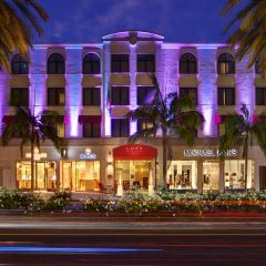 Luxe Rodeo Drive Hotel, Beverly Hills, Los Angeles, CA. The only hotel on this famous shopping strip.