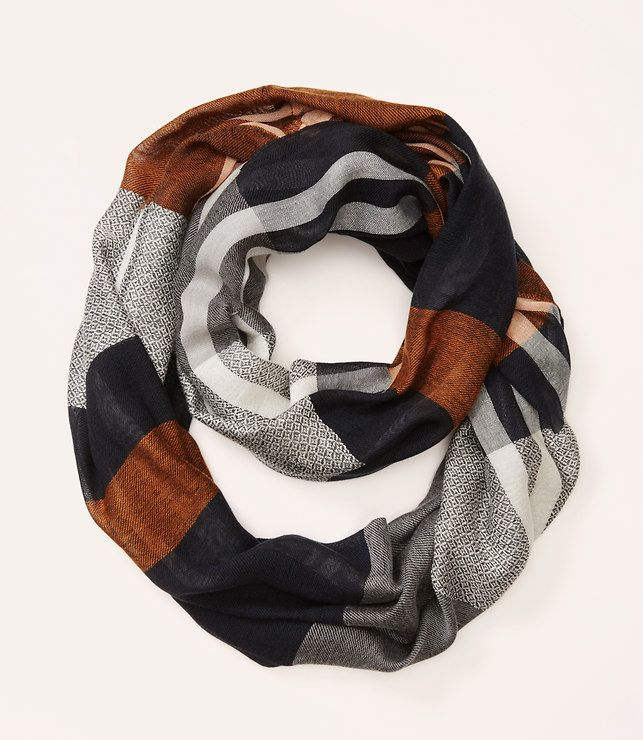 Primary Image of Plaid Infinity Scarf