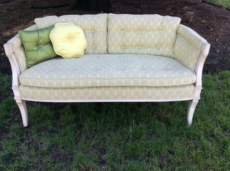hollywood regency settee couch petite vintage loveseat charmark vintage loveseat mid century loveseat