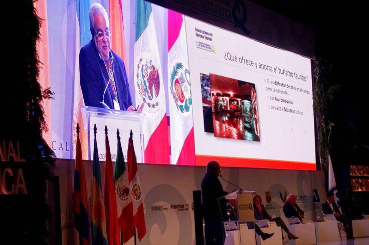 El Turismo Taurino cobra protagonismo en el IV Congreso Internacional de Calidad Turística Un foro que ha reunido del 22 al 24 de noviembre en Colombia a prestigiosos ponentes de todo el mundo relacionados con el sector