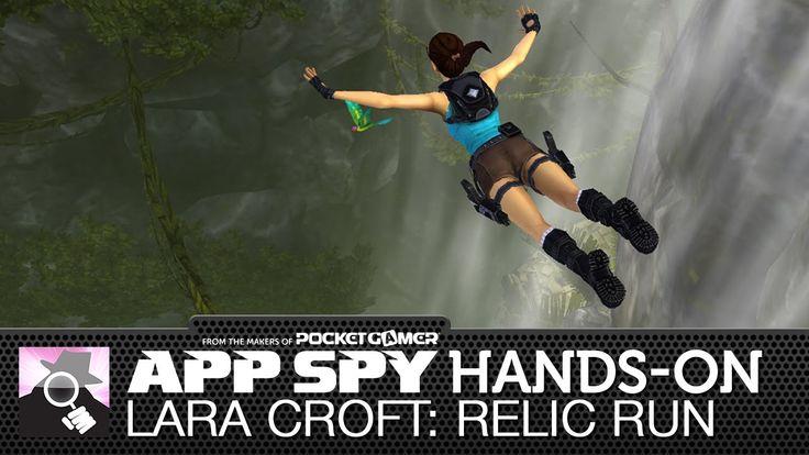 Lara Croft: Relic Run   iOS iPhone / iPad Hands-On - AppSpy.com