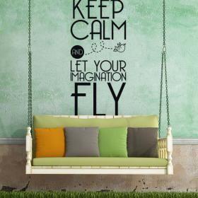 Vinilos Decorativos Frases y Textos Keep Calm