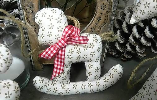 domivecicky / Vianočná osoba na stromček Koník