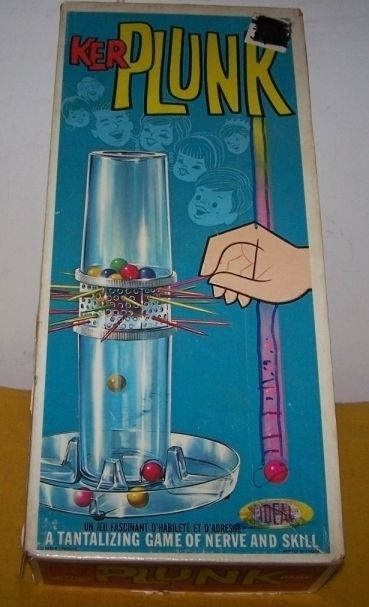 1960S Board Games | Board_Game_KerPlunk.jpg ... IN SEARCH OF THIS VINTAGE GAME, BUT GARAGE SALES ARE HERE SO MaYbE I WILL FIND ONE, SMILES... YOU HAVE 1 YA MAY WANNA SALE FOR A GOOD PRICE? JUST LET ME KNOW PLEASE?