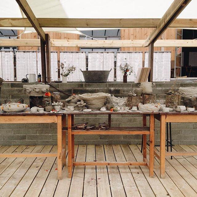 So, we made so, so many gorgeous pots. They'll be delivered to their new homes…