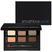 A sleek mirrored palette featuring six gorgeous Photo Op Eye Shadow shades handpicked by Smashbox's pros to play up blue eyes.  Specifically chosen to enhance blue eyes, this assortment of shadows delivers smoky and sultry looks. It also comes with a double-ended brush and step-by-step instructions for effortless application.This set contains:- 6 Photo Op Eye Shadows in Cream (ivory cream shimmer), Shell (peach champagne shimmer), Pewter (gray silver shimmer), Custard (matte peach), Sable…