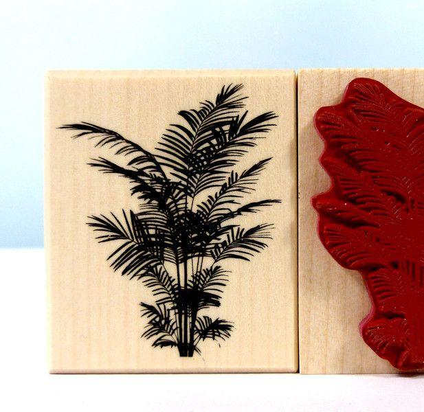 Stempel - Stempel Farn Pflanze Natur - ein Designerstück von Frau_Zwerg bei DaWanda