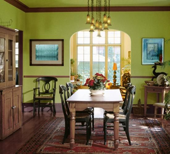 2014 Feng Shui Tips And Color Combinations For Dining Room