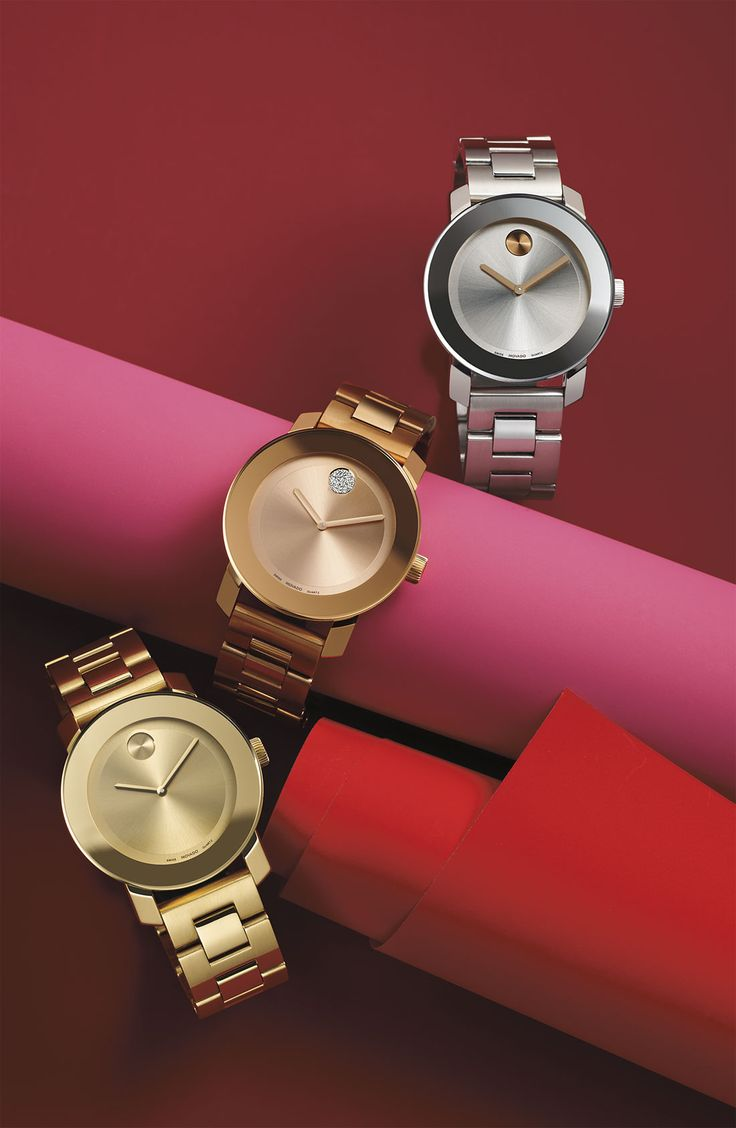 Wow with Movado. You could never go wrong with a fabulous Movado watch! @southcoastplaza
