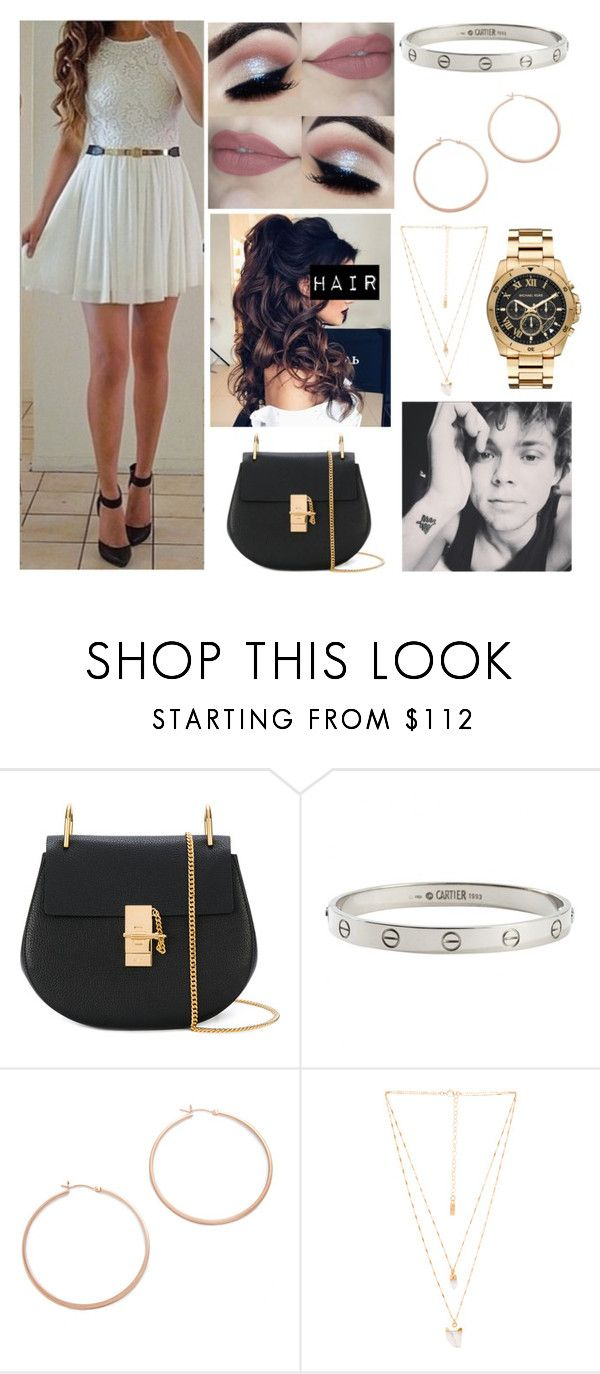 """🎸Taylor🎸 Surprise Party for Ashton"" by sam-golbachs-wife ❤ liked on Polyvore featuring Chloé, Cartier, Jennifer Zeuner, Natalie B and Michael Kors"