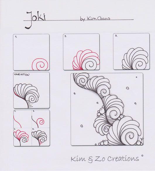 Joki pattern - Kim & Zo Creations