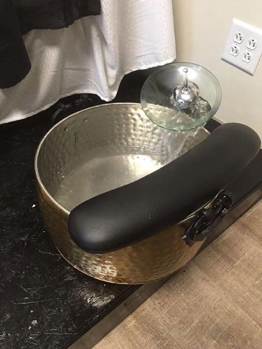 Pedicure bowl