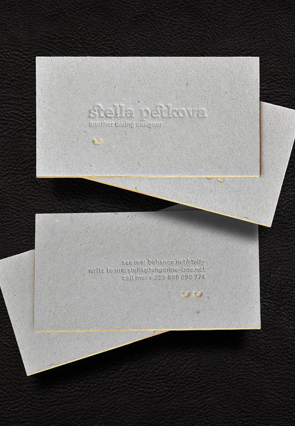 307 best business cards images on Pinterest Business cards - letterpress business card