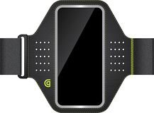 Griffin Technology - Armband for Apple® iPhone® & 5th-Generation iPod® touch - Black