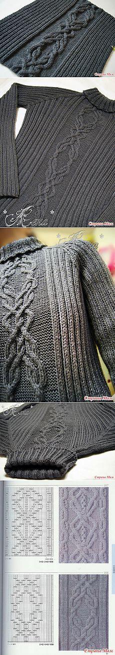 Два мужских свитера спицами, или не прошло и пяти лет! ))) - Вязание - Страна Мам