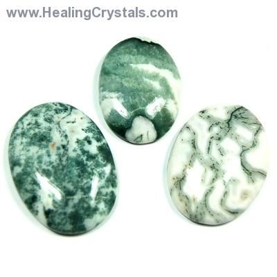 Tree Agate can assist those who need to recognize the importance and influence of cycles in one's life. Tree Agate brings our focus to the oneness of us all, dissolving egoism and arrogance. Use Tree Agate to ease relationship problems with children.  COUPON CODE: UR1DRFL   -    SAVES YOU 10% on your entire order!
