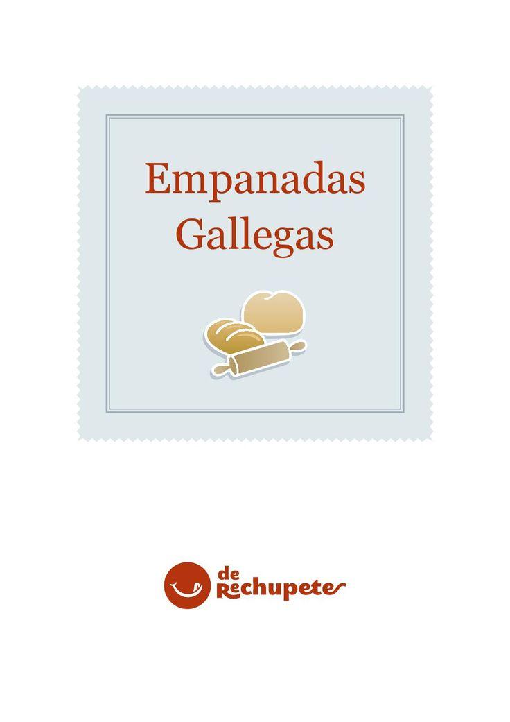Recetario empanadas gallegas