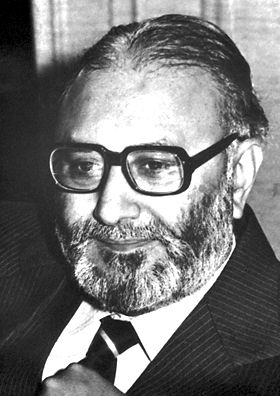 "Abdus Salam, The Nobel Prize in Physics 1979: ""for their contributions to the theory of the unified weak and electromagnetic interaction between elementary particles, including, inter alia, the prediction of the weak neutral current"", particle physics"