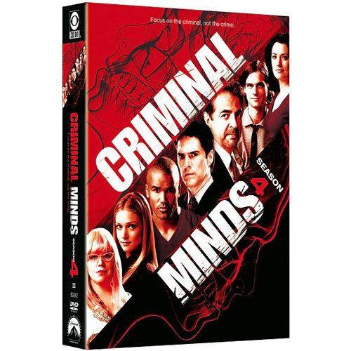 Criminal Minds: Season 4 (DVD, 2009, 7-Disc Set) BRAND NEW, FAST FREE SHIPPING!