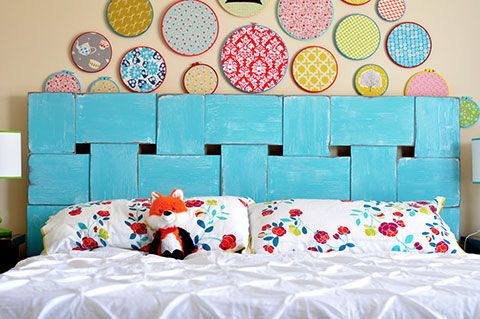 21 t tes de lit de r ve faire soi m me t te de lit faire cheap diy headboard diy. Black Bedroom Furniture Sets. Home Design Ideas