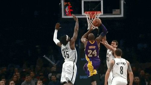 Kobe Bryant showed absolutely no fear when attacking the rim. Not only is he one of the most clutch players in NBA history, he had extraordinary athleticism.