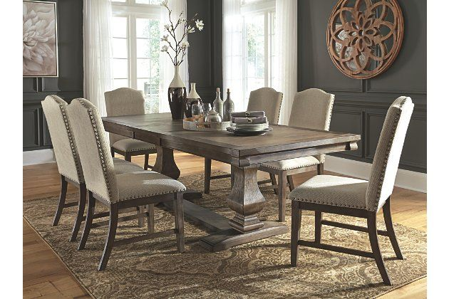Johnelle Dining Table And 6 Chairs Ashley Furniture Homestore In 2021 Ashley Furniture Dining Dining Room Furniture Dining Room Sets Ashley furniture dining room chairs