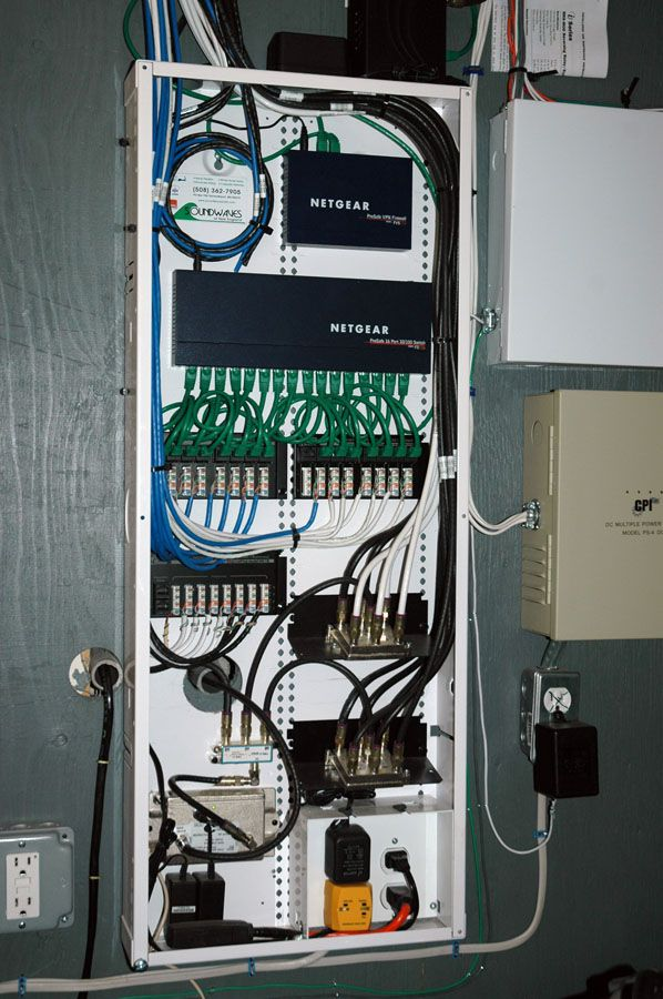 Wiring Panel Structured Home Wiring Wiring Panel For Structured Wiring