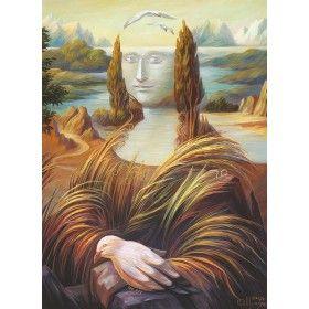 Пейзаж в итальянском стиле. Мона Лиза