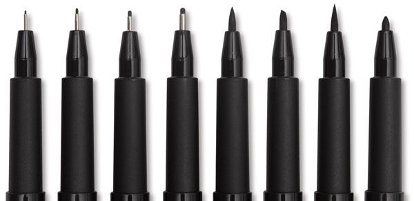 Pens, pens, pens! I would love a variety of good quality drawing pens in a variety of nib sizes, colors, and bases (water or alcohol inks).