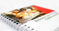 Cuadernos Corporativos Tapa: Rigida Impresión: A colores tapa y contratapa. Impresión: A 01 color interiores rayado y/o cuadriculado + 02 hojas interiores  todo color. Encuadernado: Anillado doble Ring color (blanco, negro, plata)