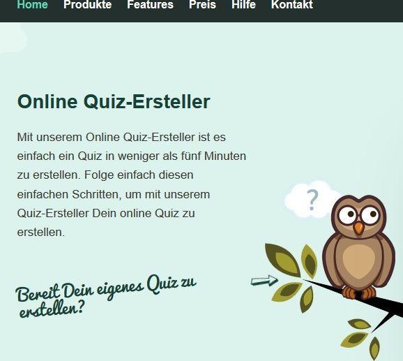 OnlineQuiz erstellen Quiz, Method