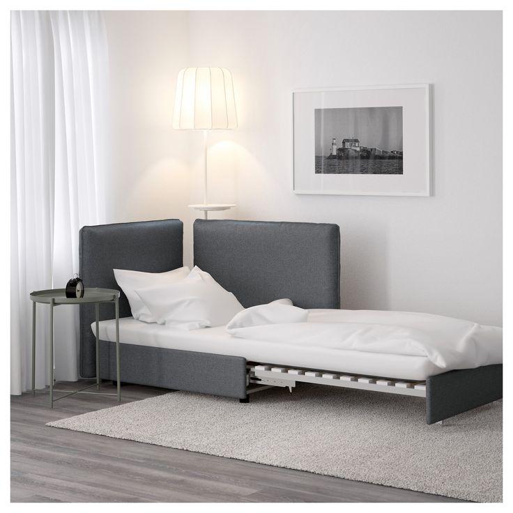 VALLENTUNA シートモジュール ベッド&背もたれ付き - ヒッラレド グリーン - IKEA