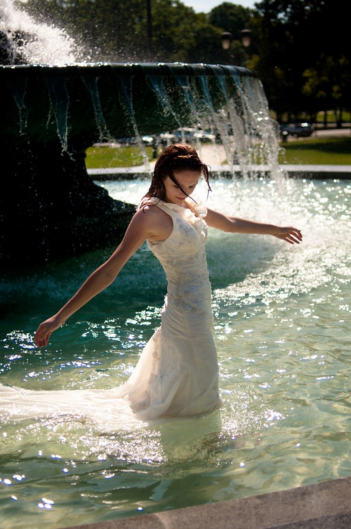 184 best trash the dress photo shoot ideas images on for What to do with old wedding dress after divorce