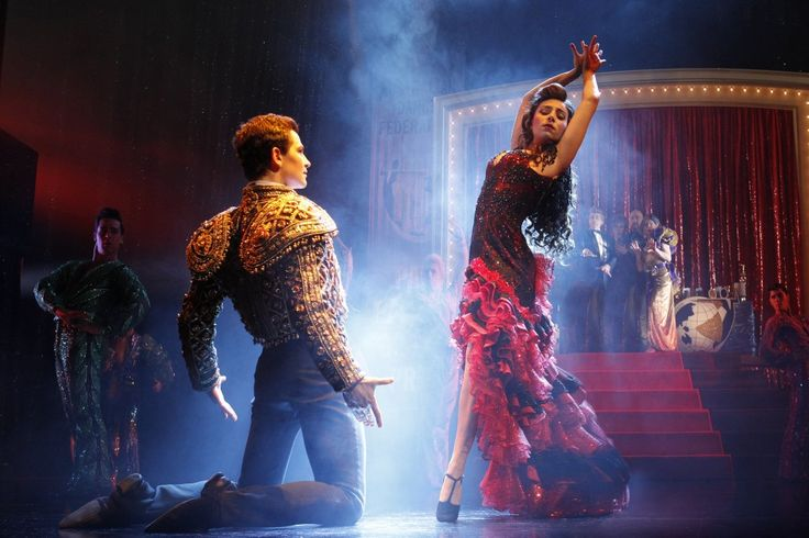 Scott & Fran Pan Pacifics. Strictly Ballroom the Musical