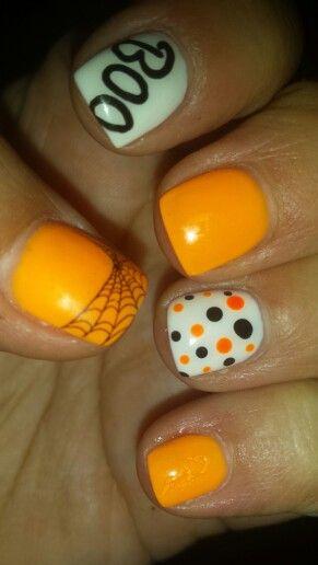 Set #4 halloween nails