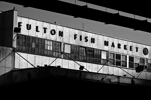1000 images about fulton fish market south street new for Fish market nyc