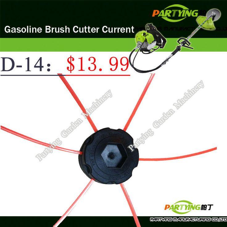 Free Shipping buy 2 get 1 free petrol lawn mower trimmer 2-stroke brush cutter head grass cutting machine gasoline plastic  D-14