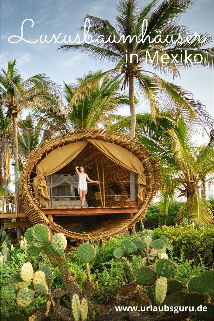 Ihr seid auf der Suche nach der perfekten Unterkunft für euren Mexiko Urlaub? Wie wäre es mit einem luxuriösen Baumhaus? Foto: Kevin Steele / kevsteele.com - Playa Viva